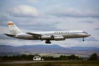 CV-990 Spantax EC-BQQ BSL 1971