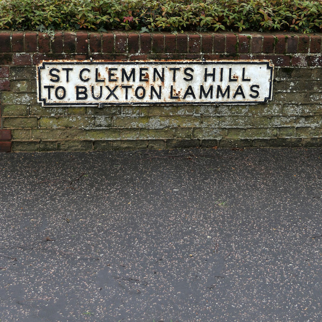 ST CLEMENTS HILL TO BUXTON LAMMAS