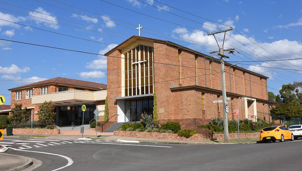 Our Lady of Mt Carmel Catholic Church, Wentworthville, Sydney, NSW.