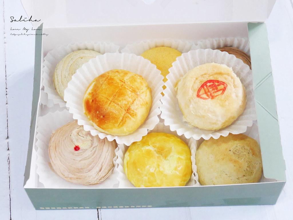 微風台北車站伴手禮美食送禮推薦犁記犁茶品記好吃月餅不會很甜糕點綠豆椪 (2)