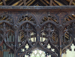 screen tracery (15th/18th Centuries)
