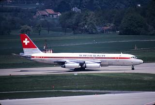 CV-990 Swissair HB-ICE GVA 12 5 1973
