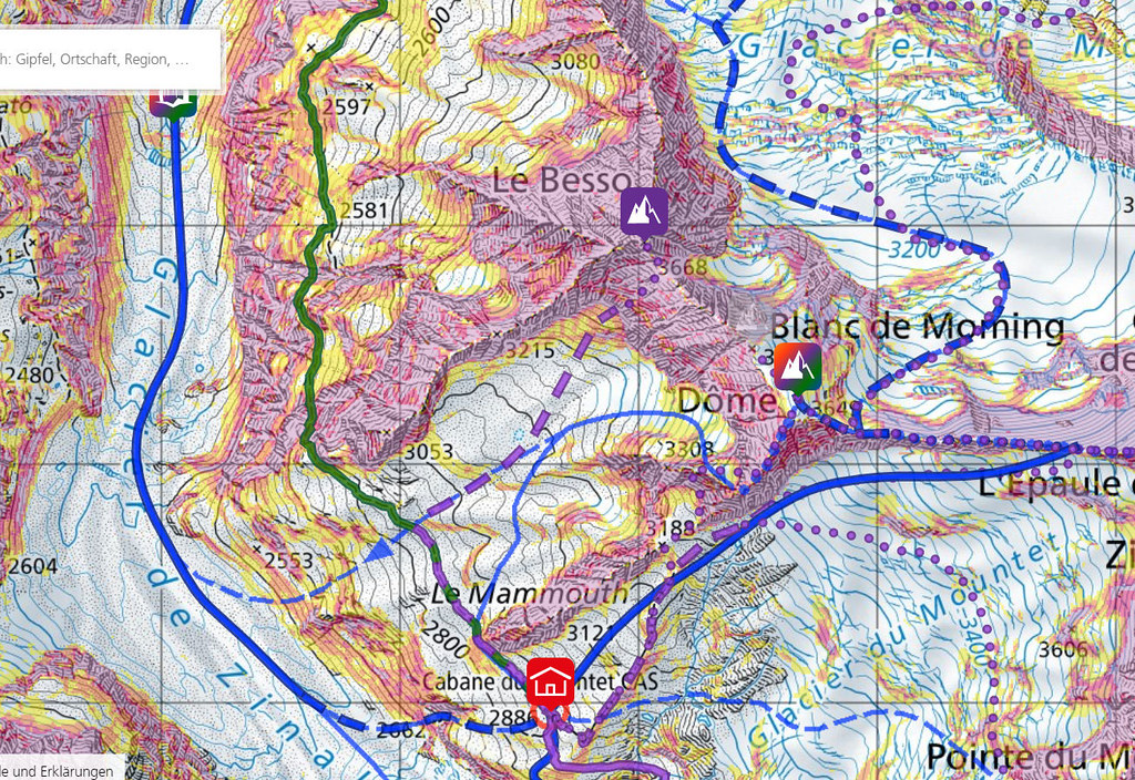 Blanc de Moming - Dôme Circuit Walliser Alpen / Alpes valaisannes Switzerland photo 07