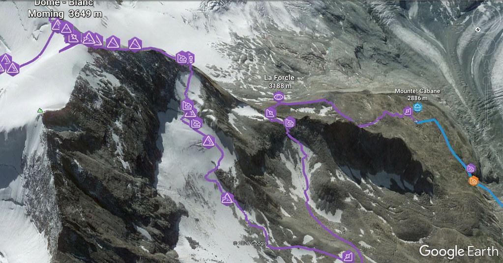 Blanc de Moming - Dôme Circuit Walliser Alpen / Alpes valaisannes Switzerland photo 04