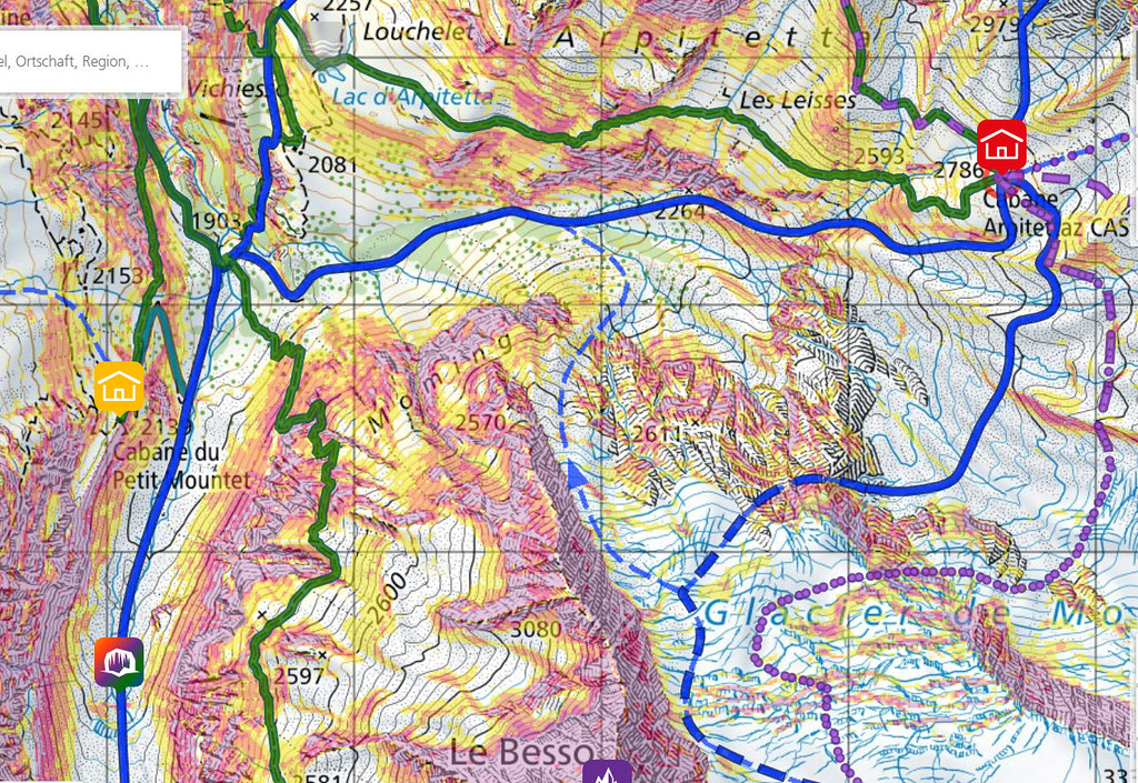 Blanc de Moming - Dôme Circuit Walliser Alpen / Alpes valaisannes Switzerland photo 08