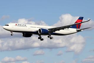 DELTA  AIR  LINES / Airbus   A 330-900   F-WWCN   1957 / LFBO - TLS / août 2020