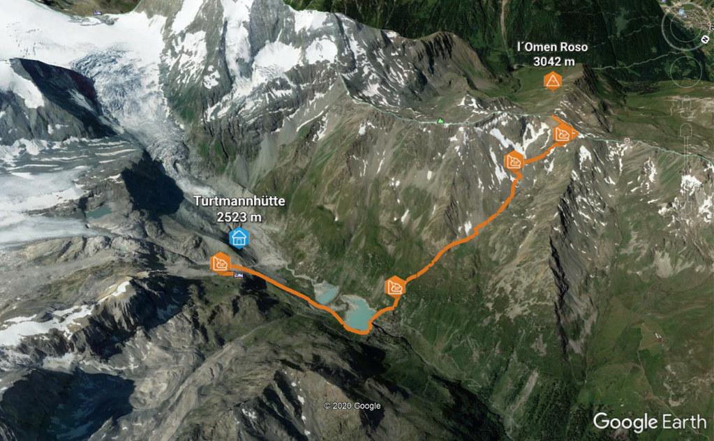L´Omen Roso Walliser Alpen / Alpes valaisannes Schweiz foto 01