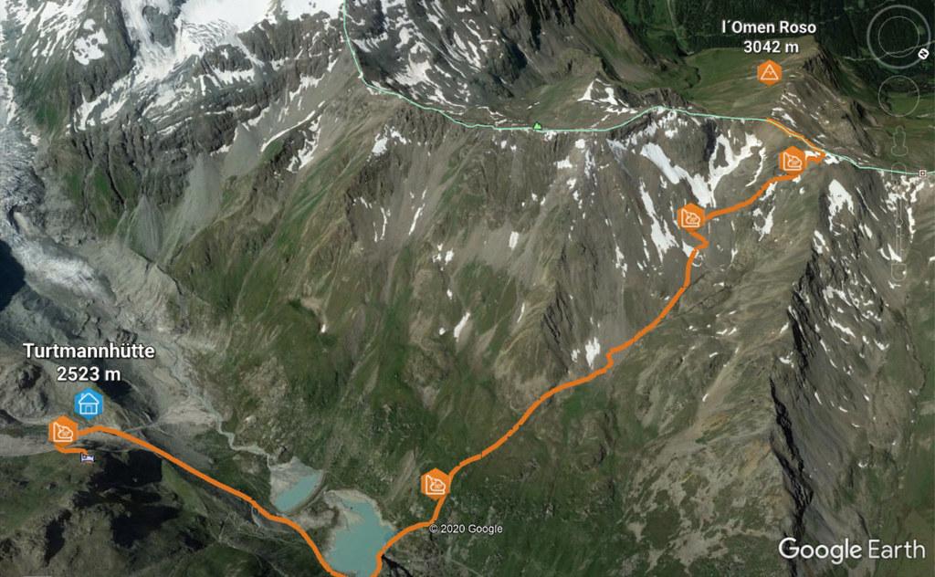 L´Omen Roso Walliser Alpen / Alpes valaisannes Schweiz foto 02