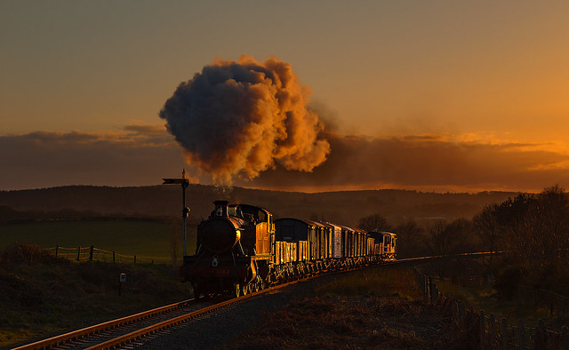 Sunset Steam