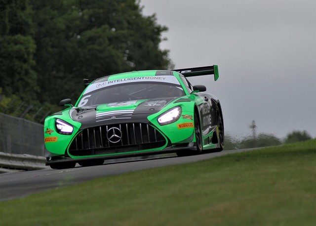 #6 RAM Racing Mercedes-AMG GT3 British GT Brands Hatch