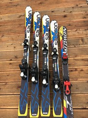 Salomon lyže - titulní fotka