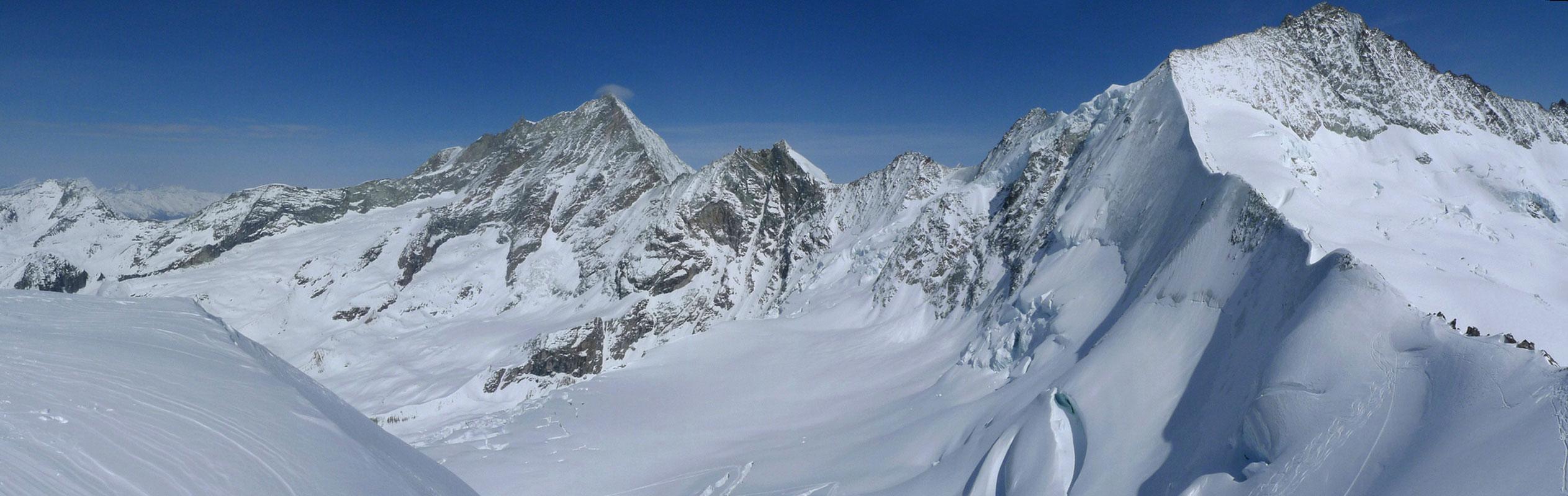 Blanc de Moming - Dôme Circuit Walliser Alpen / Alpes valaisannes Switzerland panorama 35