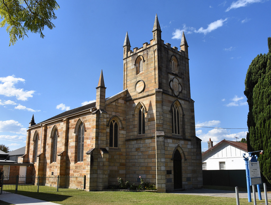 Presbyterian Church, Wentworthville, Sydney, NSW.