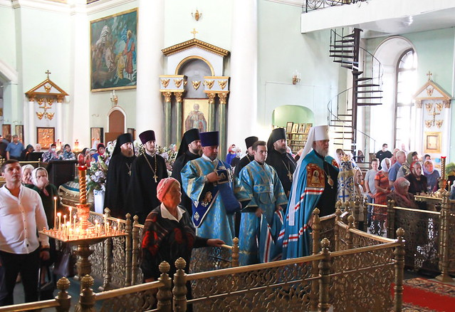 Митрополит Герман Совершил Божественную литургию и молебен на начало обучения 30.08.2020
