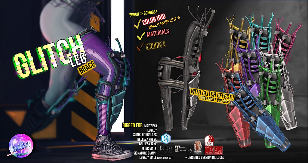 SEKA's Glitch Leg Brace @CYBER Fair