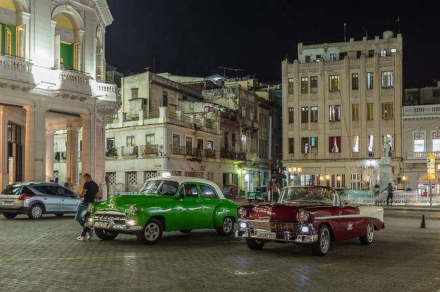 Vintage cars in Habana