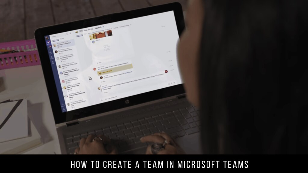 How to create a team in Microsoft Teams