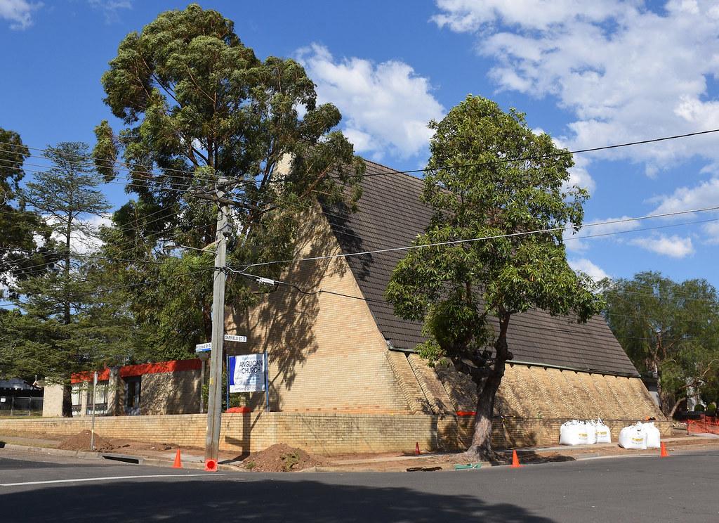 Anglican Church, Wentworthville, Sydney, NSW.
