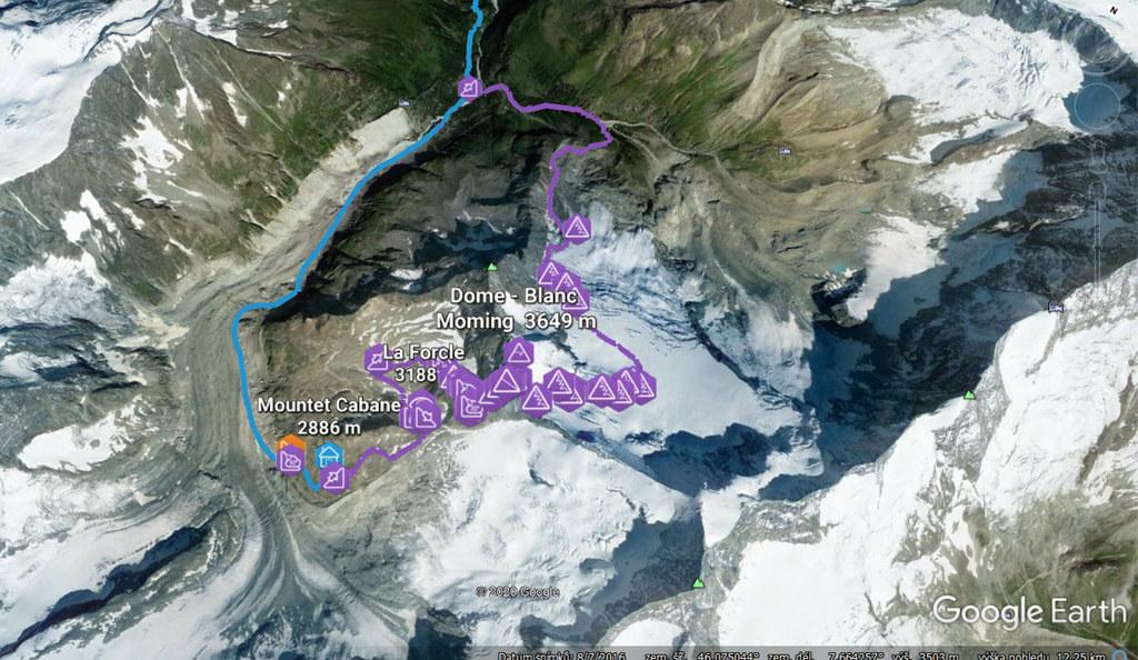 Blanc de Moming - Dôme Circuit Walliser Alpen / Alpes valaisannes Switzerland photo 02