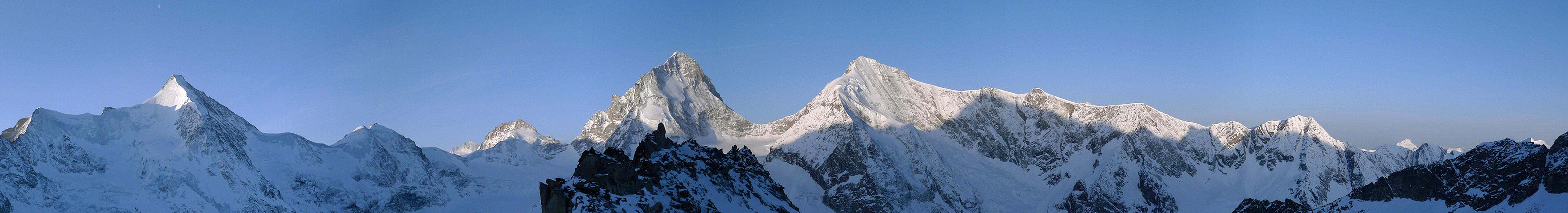 Blanc de Moming - Dôme Circuit Walliser Alpen / Alpes valaisannes Switzerland panorama 18