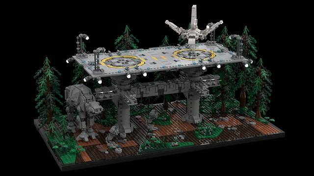 Endor Landing Platform - LEGO MOC