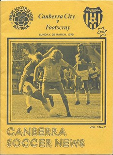 79Canberra City v Footscray JUST