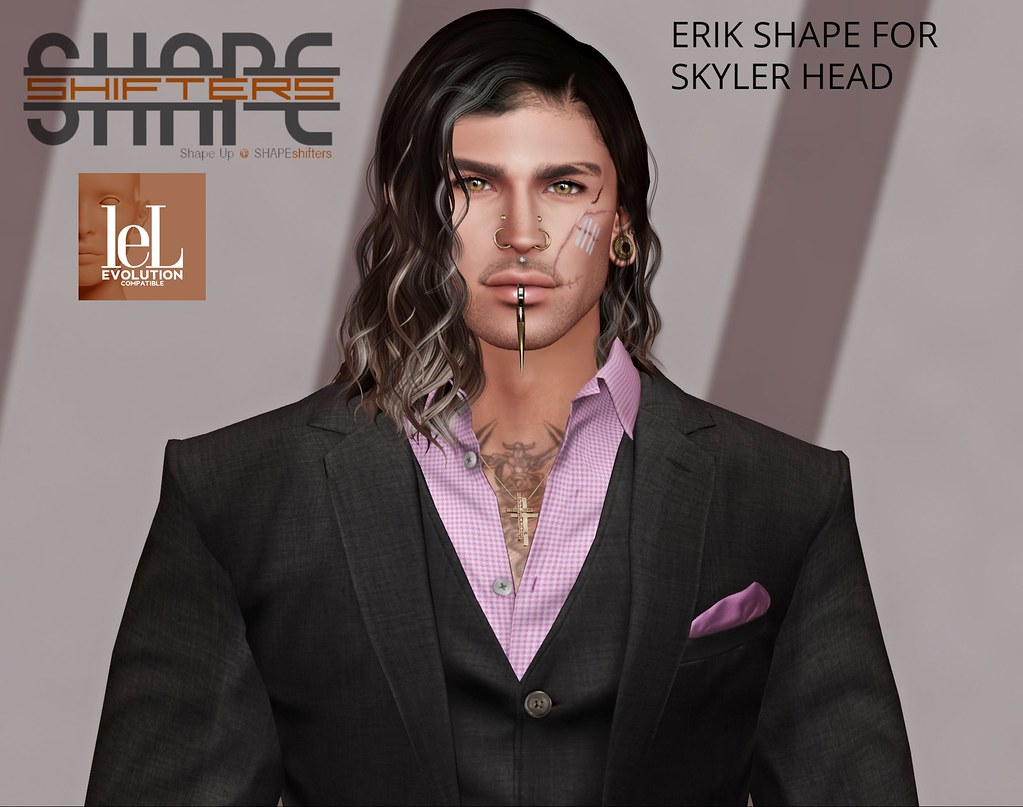 [SHAPEshifters] ERIK SHAPE FOR SKYLER HEAD