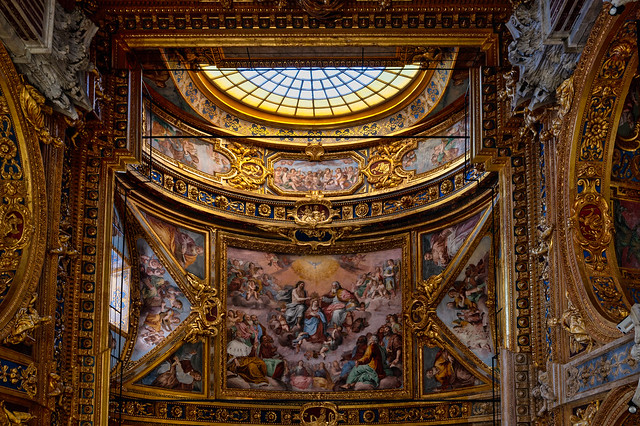 Again: The admirable opulence of the Italian churches
