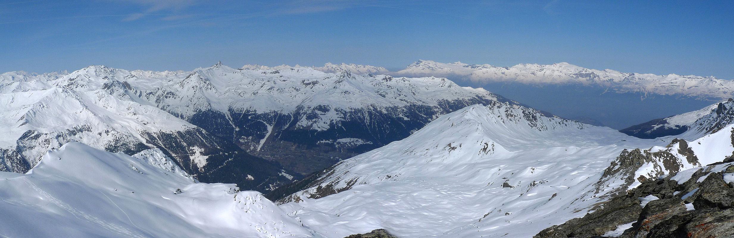 L´Omen Roso Walliser Alpen / Alpes valaisannes Schweiz panorama 32