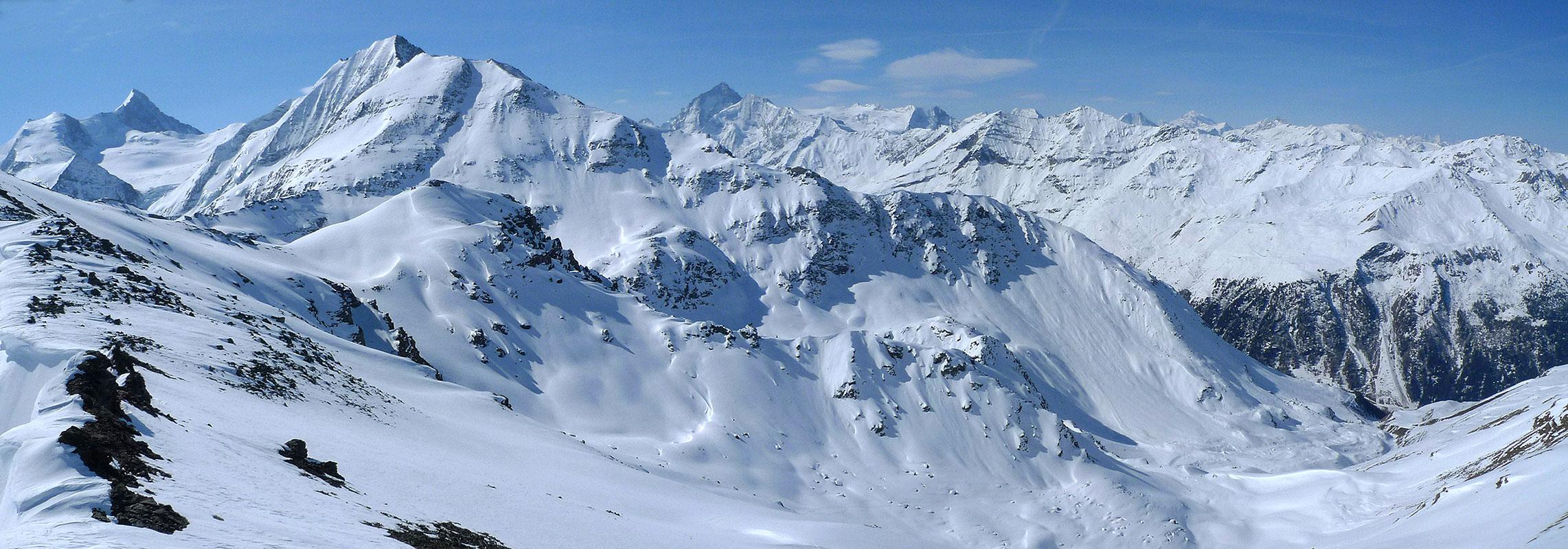 L´Omen Roso Walliser Alpen / Alpes valaisannes Schweiz panorama 33
