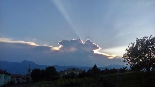 tramonto sunset sky cielo ciel coucherdusoleil sonnenuntergang puestadesol valdinon