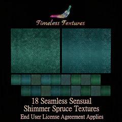 TT 18 Seamless Sensual Shimmer Spruce Timeless Textures