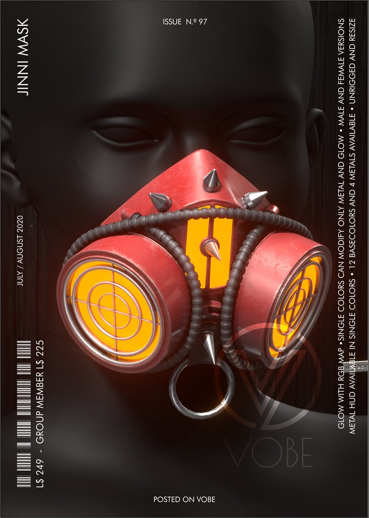 VOBE – Jinni Mask @CYBER FAIR