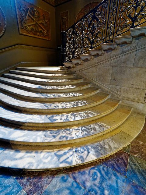Stairs at Hampton Court