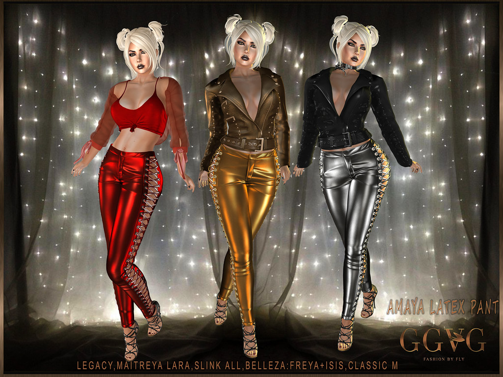 AMAYA LATEX PANT MAIN