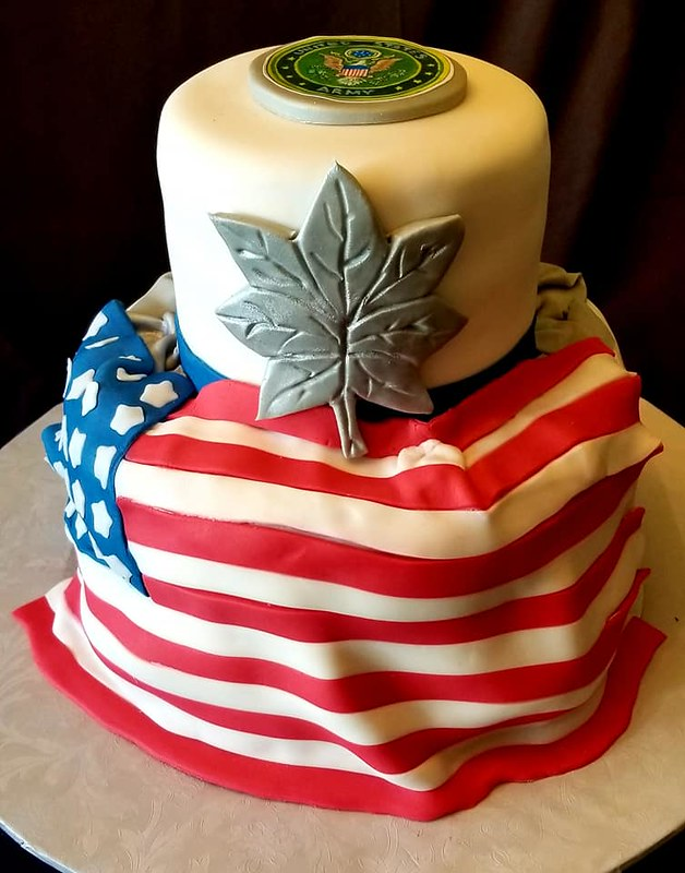 Cake by Northern Virginia Steaks and Cakes