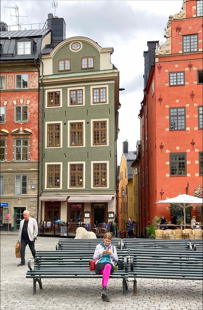 Pretty in pink - Stockholm Old Town / Gamla stan