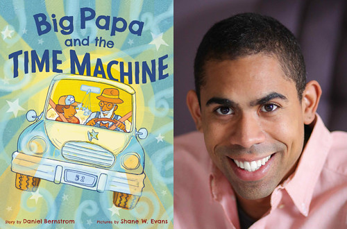 Daniel Bernstrom and Big Papa and the Time Machine. From  Minnesota Children's Book Festival Brings Children's Literature to Life