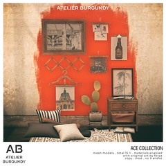 Atelier Burgundy . Ace Collection