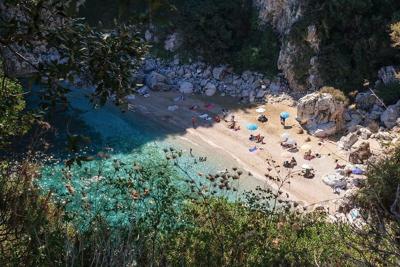 Fakistra beach, Pelion, Greece.