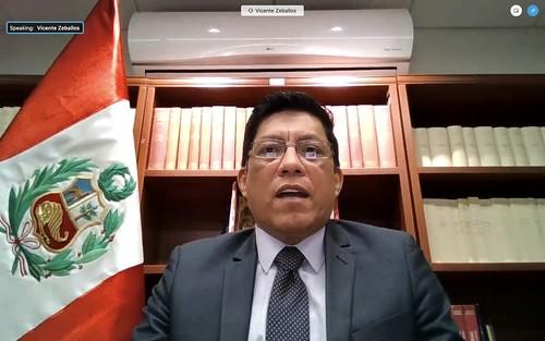 Nuevo Representante de Perú ante la OEA presenta credenciales
