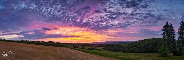 Sonnenaufgang im Panorama