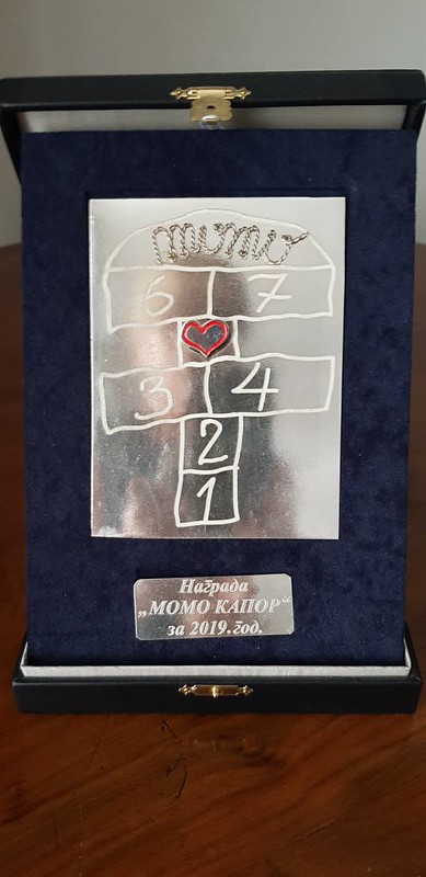 Srebrna plaketa Momo Kapor za slikarstvo 2019