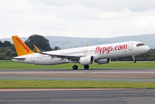 TC-RBB 2 Airbus A321-251NX Pegasus Airlines MAN 03SEP20