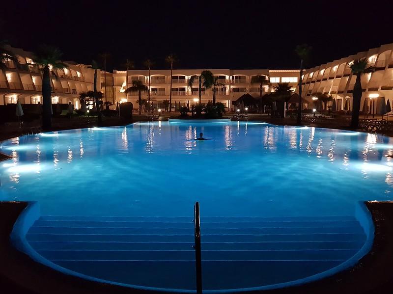 Baño nocturno, Iberostar Royal Andalus