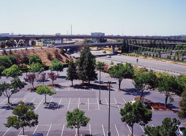 Interchange between Highways CA87 and US101