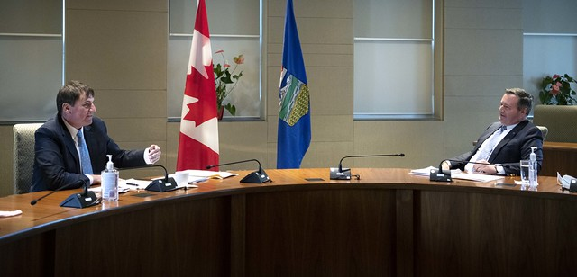 Premier meets with federal minister to discuss Alberta's priorities
