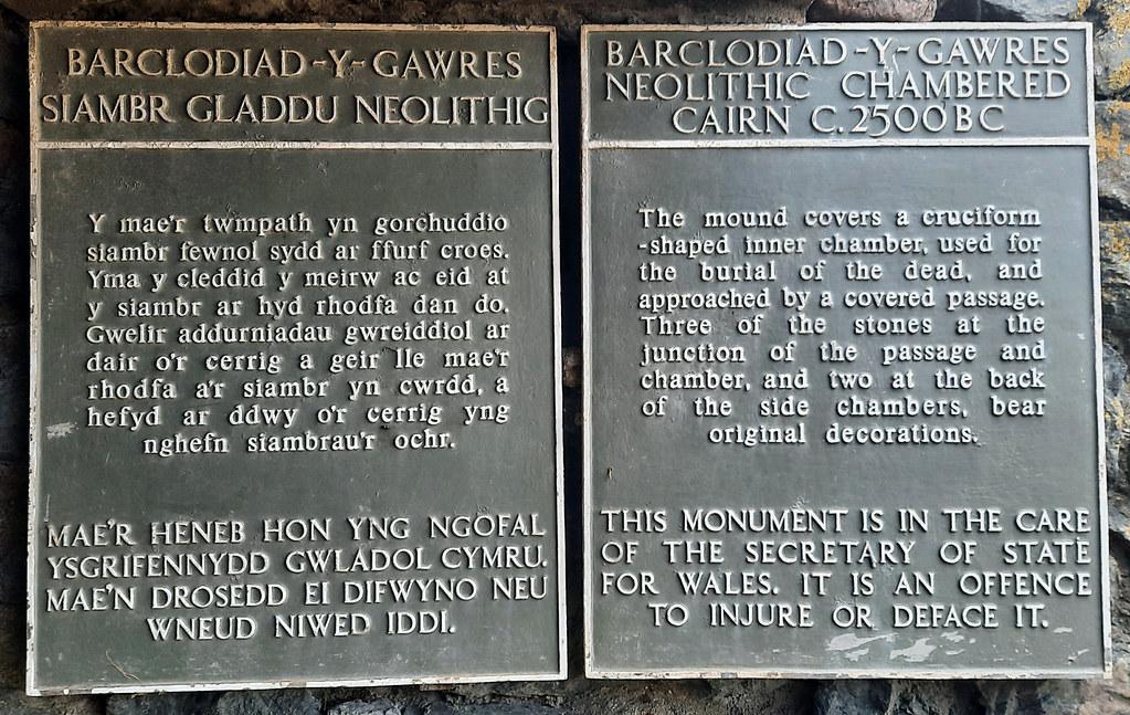 Barclodiad y Gawres Burial Chamber -  Llanfaelog (4)