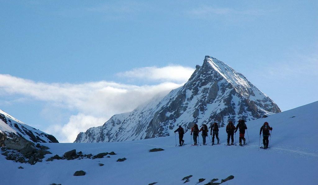 Pigne Arolla, Day 5 H.R. Chamonix-Zermatt Walliser Alpen / Alpes valaisannes Schweiz foto 20