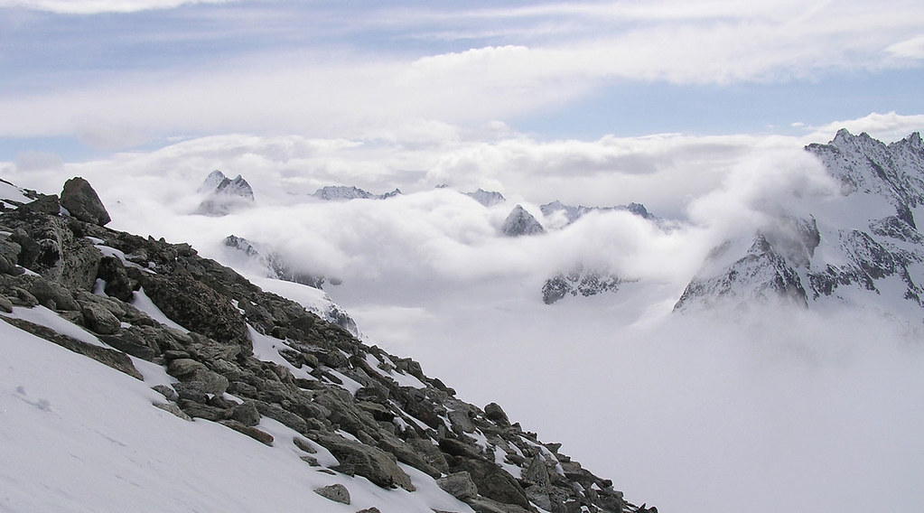 Pigne Arolla, Day 5 H.R. Chamonix-Zermatt Walliser Alpen / Alpes valaisannes Švýcarsko foto 30